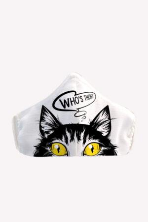 Masca reutilizabila pentru fata - Pisica