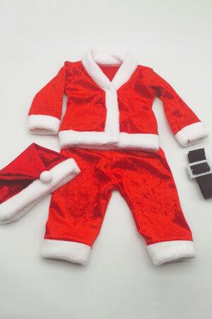 Costumas + caciulita Craciun - baietel bebe