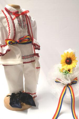 Set Traditional Botez Baiat - Costumas + Lumanare 6