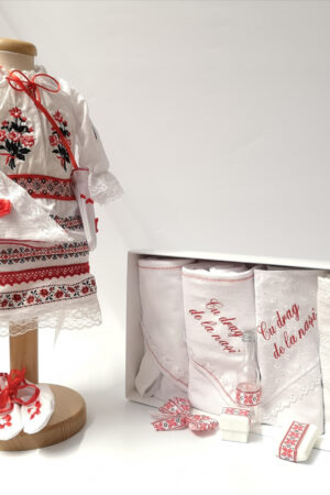 Set Traditional Botez Fetita - Costumas + Trusou 5