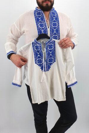 Set Traditional - Camasa Tata   Camasa fiu Marcel