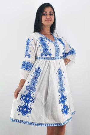 Set Traditional Rochie Mama Camasa Tata Titel Fiorela 2
